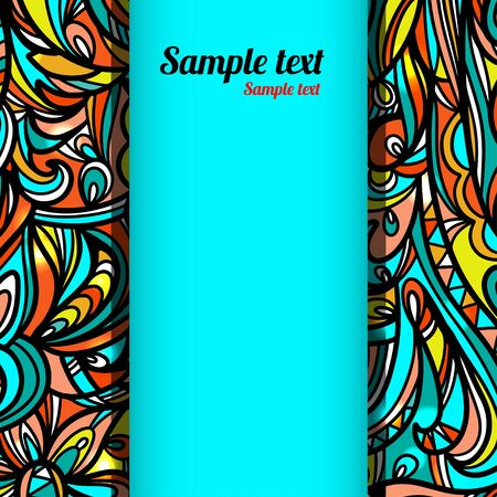 Abstract background with space for text - vector Vector
