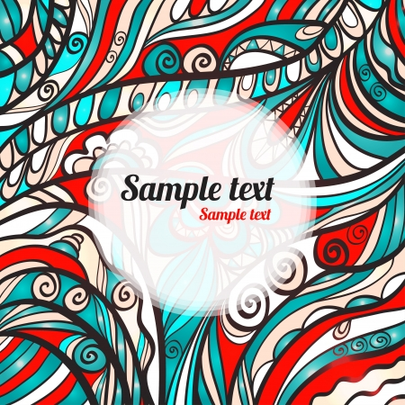 Abstract background with space for text Vector