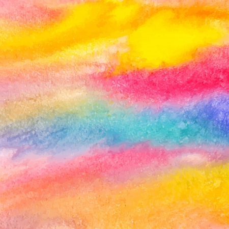 Colorful watercolor background - vector