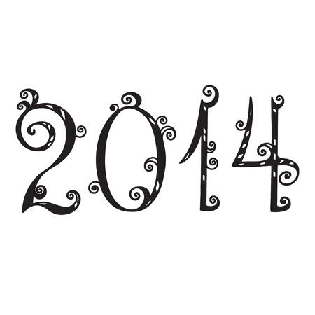 foliate: Number 2014  Illustration