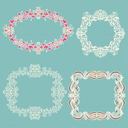 Set isolated frames  Stock Vector - 20596649