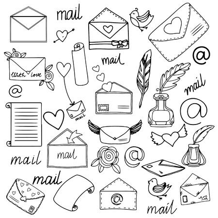 mailbox: Mail set
