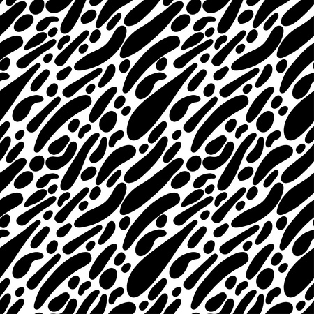 Abstract print seamless pattern - vector  Vector