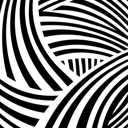 geometricos: Fondo abstracto blanco y negro - vector