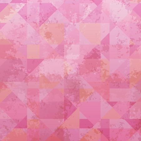 Abstract geometric pink texture background  Vector