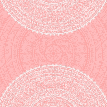 Vintage background with lace ornament Stock Vector - 20705332
