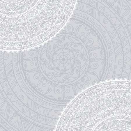 Vintage background with lace ornament Stock Vector - 20705393