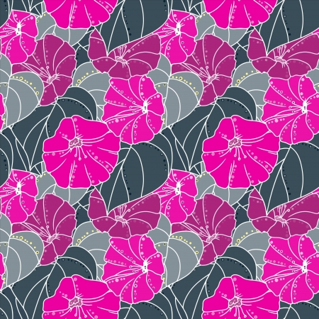 Floral seamless pattern - vector Vector