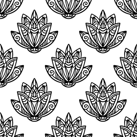 Abstract floral seamless pattern  Stock Vector - 21699801