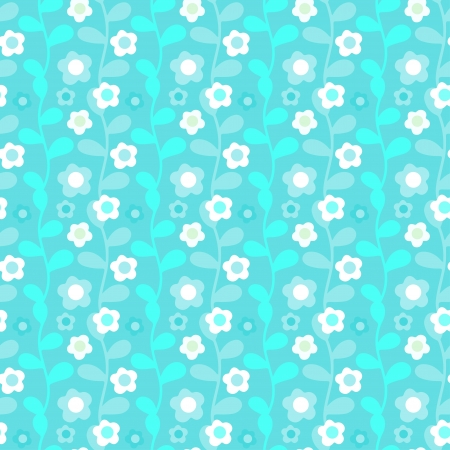 branch to grow up: Vintage floral seamless pattern