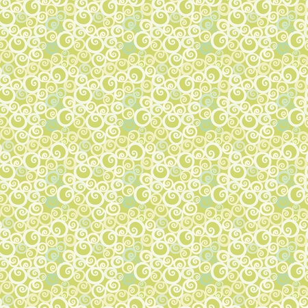 Summer geometric seamless pattern - vector Vector