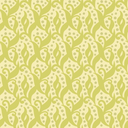Summer floral seamless pattern - vector Vector