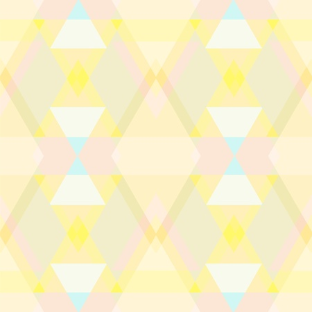 patch of light: Abstract geometric seamless pattern - vector