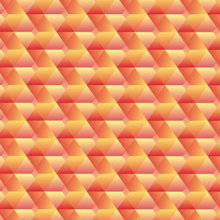 patch of light: Orange geometric background - vector