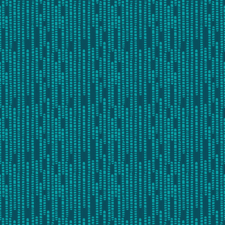 Green abstract geometric pixel seamless pattern - vector Vector