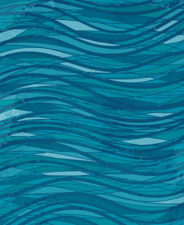 Background with wave pattern - vector