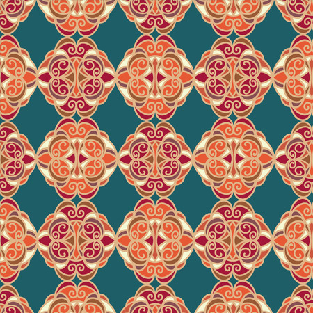 Abstract vintage pattern - vector Vector