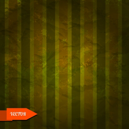 Retro grunge striped background - vector Vector