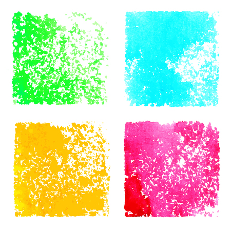 Set abstract watercolor spots isolated on white background  Hand painting  Grunge texture - vector Stock Vector - 24555399