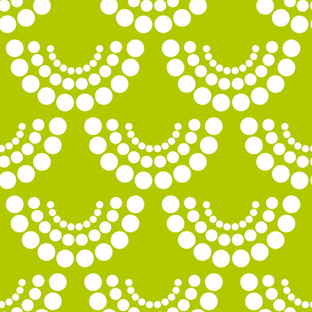 Abstract seamless pattern with circles  Vector