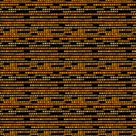 wallpaper abstract: Pixel seamless pattern in black and gold. Endless Print Silhouette Texture. Wallpaper. Abstract background - vector Illustration