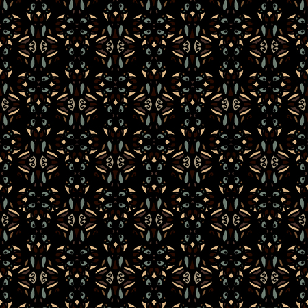 Abstract ethnic seamless pattern. Geometric repeating background texture. Fabric design. Wallpaper - vector Illustration