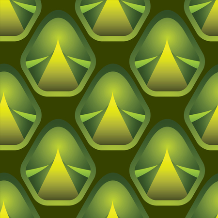 Endless print of seamless pattern with texture pineapple. Abstract fruit repeating background. . Fabric design. Wallpaper - vector