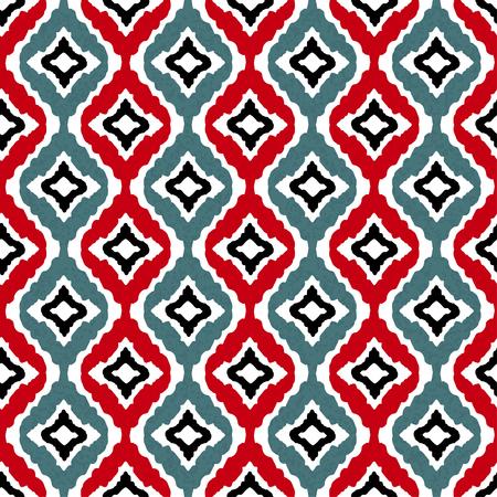 Abstract tribal art ethnic seamless pattern.