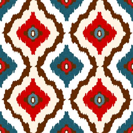 Arte tribal abstracto étnico de patrones sin fisuras.