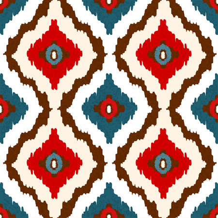 Abstract tribal art ethnic seamless pattern.