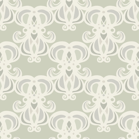 Abstract floral seamless pattern. Repeating background texture. Endless print. Fabric design. Wallpaper Ilustração