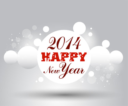 s eve: New year  card