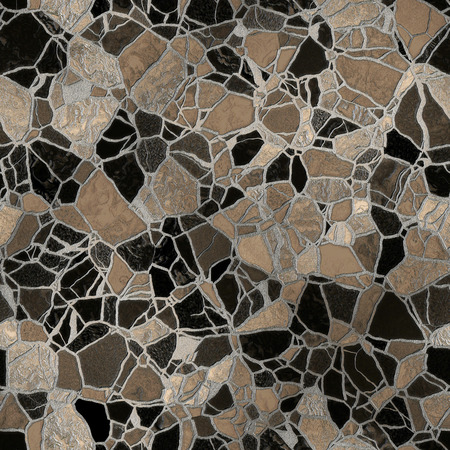 Seamless abstract mosaic background. Imagens - 40967251