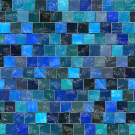 tiles texture: Seamless bath tiles repeating texture background. Stock Photo