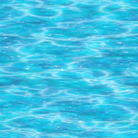 Naadloze water oppervlak achtergrond.