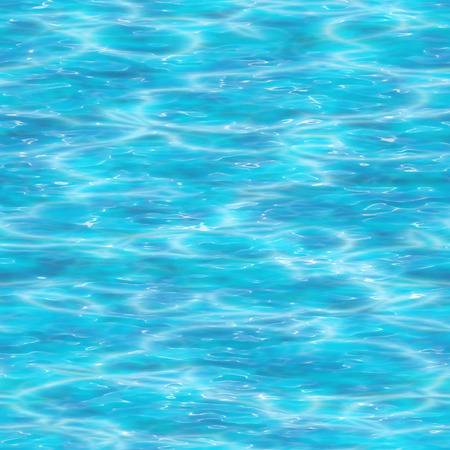 the surface of the water: Seamless water surface background. Stock Photo