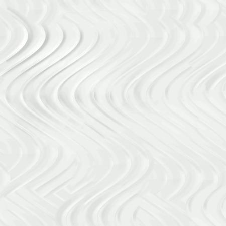 wallboard: Seamless relief plaster wavy white.