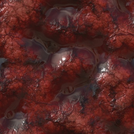Seamless texture. Illustration insides of the body. Blood clots, veins and veinlets.