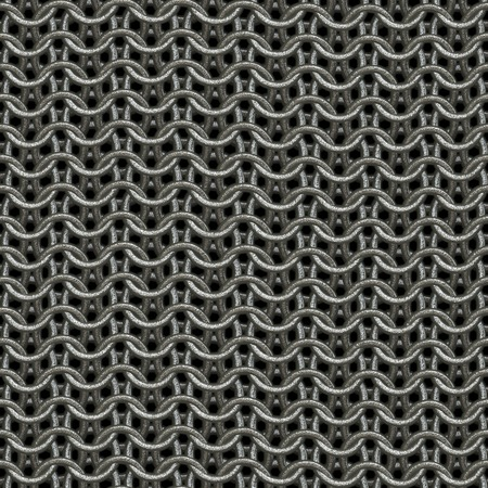 Seamless chain armor background.