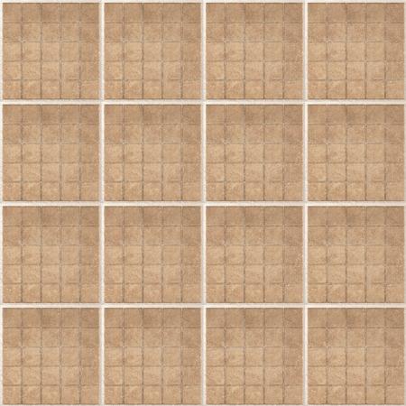 tiles texture: Seamless tiles repeating texture background. Matt ceramic tiles. Repeated squares Stock Photo