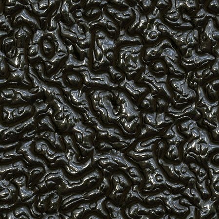 interweaving: Seamless interweaving black plastic surface. Stock Photo