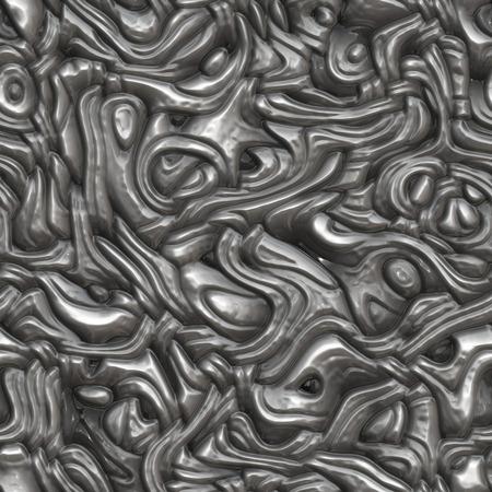 interweaving: Seamless interweaving plastic surface.