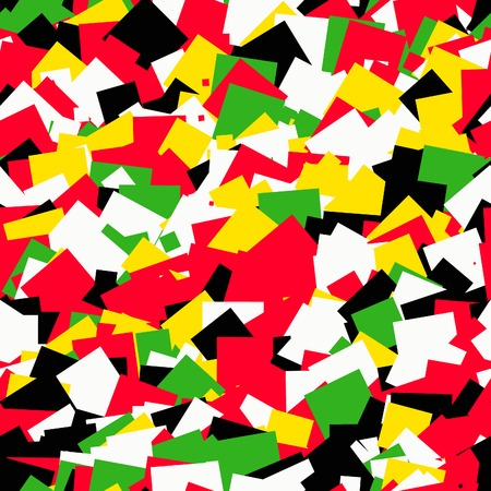 motley: Seamless abstract geometric motley background. Stock Photo