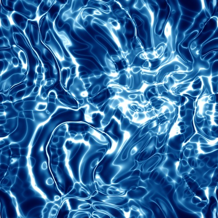 water surface: Seamless blue water surface background.