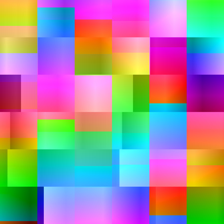 decorative wallpaper: Seamless abstract colorful square background.