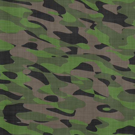 dyeing: Seamless camouflage fabric background. Stock Photo