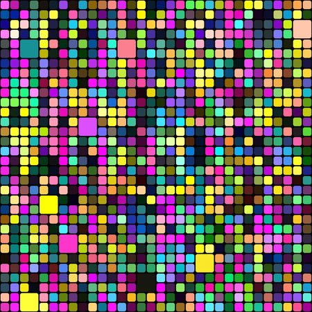 colorful: Seamless abstract colorful background of squares.