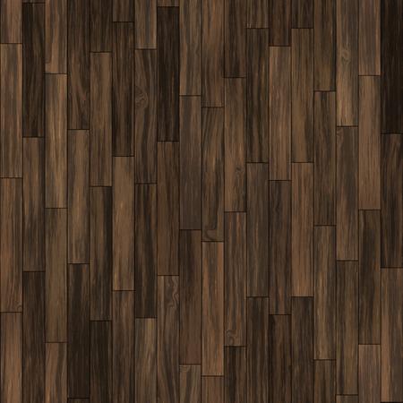 Seamless dark brown vertical laminate parquet. Imagens