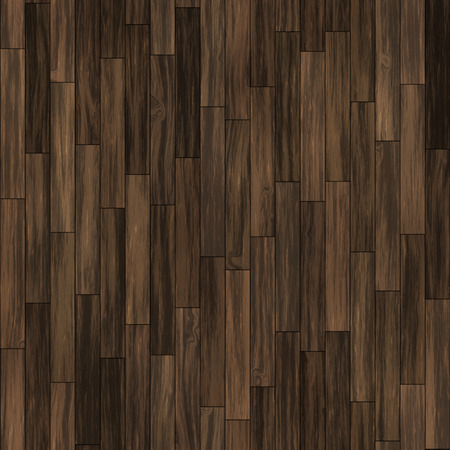 Seamless dark brown vertical laminate parquet. Archivio Fotografico