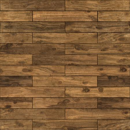 Seamless dark walnut laminate flooring texture background.